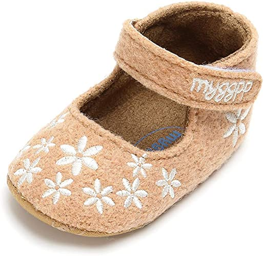 ND/_ Toddler Infant Girl High Heel Evening Party Newborn Baby Walking Shoes New