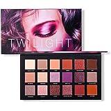 Oyalaiy 18 couleurs Ombre À Paupières Palette Matte Glitter Pigment Texture Eye Shadow Beauty Maquillage. Cadeau un pinceau de maquillage ( F )