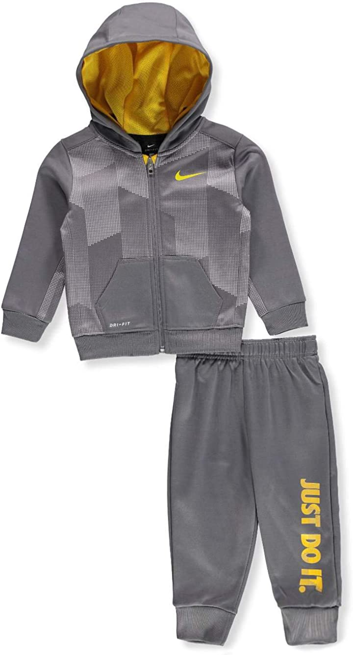 Nike Baby Boys Therma Dri-Fit 2-Piece Tracksuit Pants Set