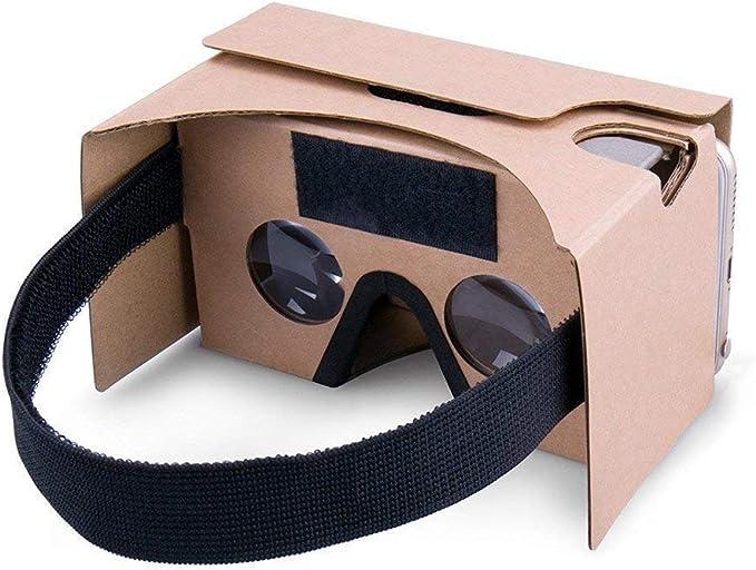 google di realtà virtuale 3d cuffie occhiali, diy cartone ...
