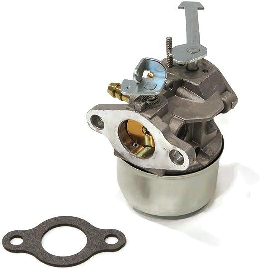 Tecumseh 640092A Carburetor for Snow Blower Engine AH600 1664N AH600 1665N