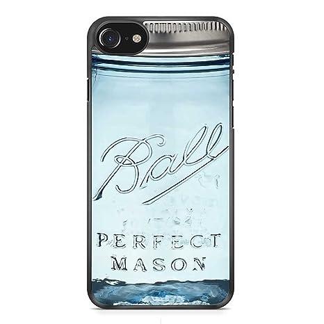 Ball Mason Jar Vintage Glass Iphone 7 Hülle Schwarzhandyhülle