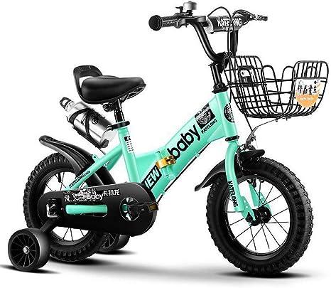 TSDS Bicicleta para niños Bicicleta Plegable para niños Bicicleta ...