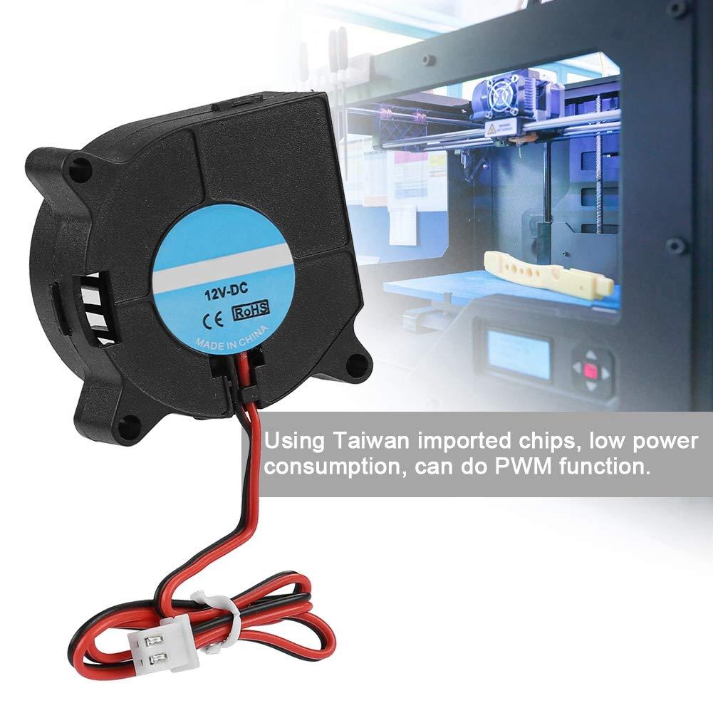 black 24v Wendry 3D Cooling Blower Fan,4020 DC 40 20mm Turbo Fan Blower Cooling Fan For 3D Printer Humidifier,12v//24V Blower Fan for 3D Printer Accessories 40