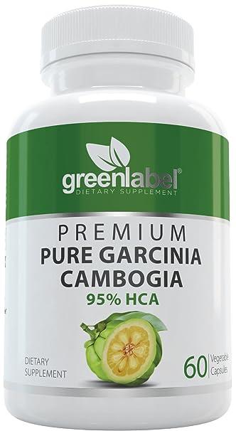 Garcinia Cambogia 100 Pure Extract 95 Hca Natural Fast Acting Fat Burner Carb