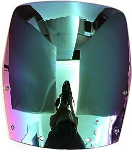 MFS MOTOR Double bubble Windshield Windscreen For Kawasaki Ninja EX 250 1988 - 2007