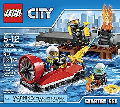 LEGO CITY Fire Starter Set 60106 from LEGO