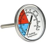 onlyfire Forno, barbecue a carbonella Smoker Gas Grill Termometro, 5,1cm quadrante