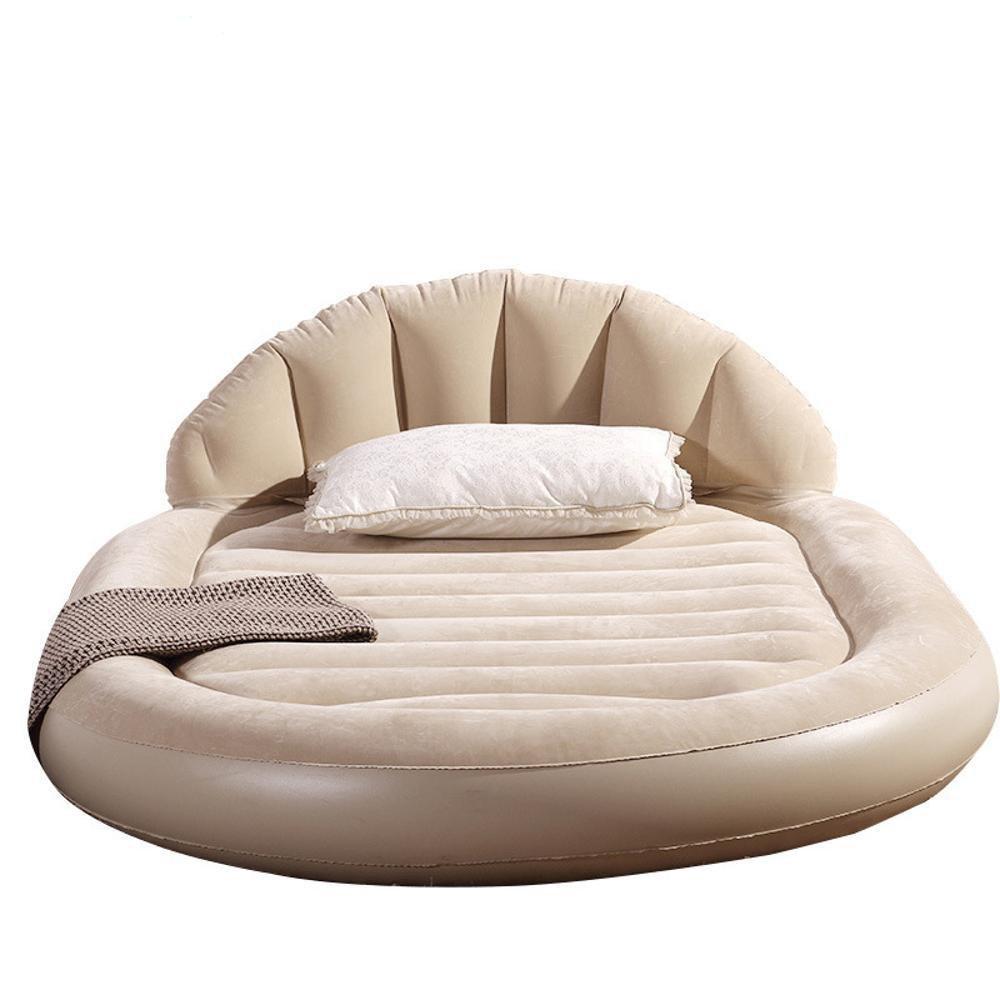 Kaxima Ovale Bett Matratze aufblasbare Matratze inländischen Faltung aufblasbaren Luftpolster Bett Bett 152  203  22 cm