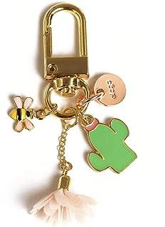 Amazon.com: Demarkt Cute Cactus Keychain Hanging Ornament ...