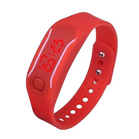 Unisex niños Reloj Digital 💝💞 Yesmile Reloj Adolescente Impermeable Deporte Reloj de Pulsera para niños