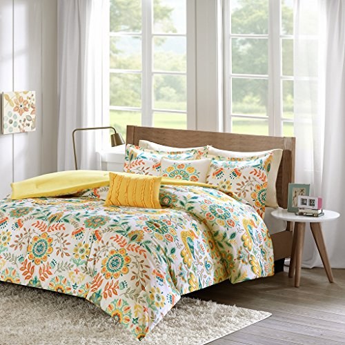 - Intelligent Design ID10-728 Nina Comforter Set Full/Queen Multi
