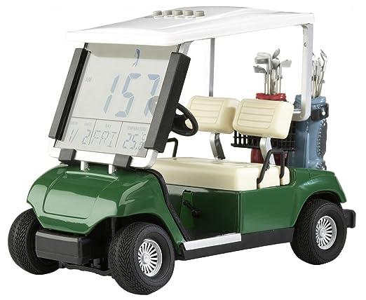 Silverline Mini Golfcart Mit Mit Uhrzeit Datum Temperaturanzeige