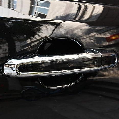 ABS plástico cromado manija de la puerta cubierta accesorios de auto para Discovery Sport 2014-