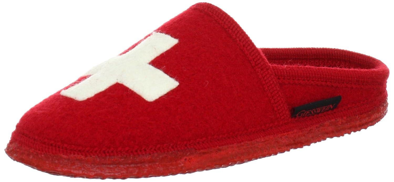 Giesswein Reinach, Unisex-Erwachsene Pantoffeln, Rot (311/rot), 44 EU