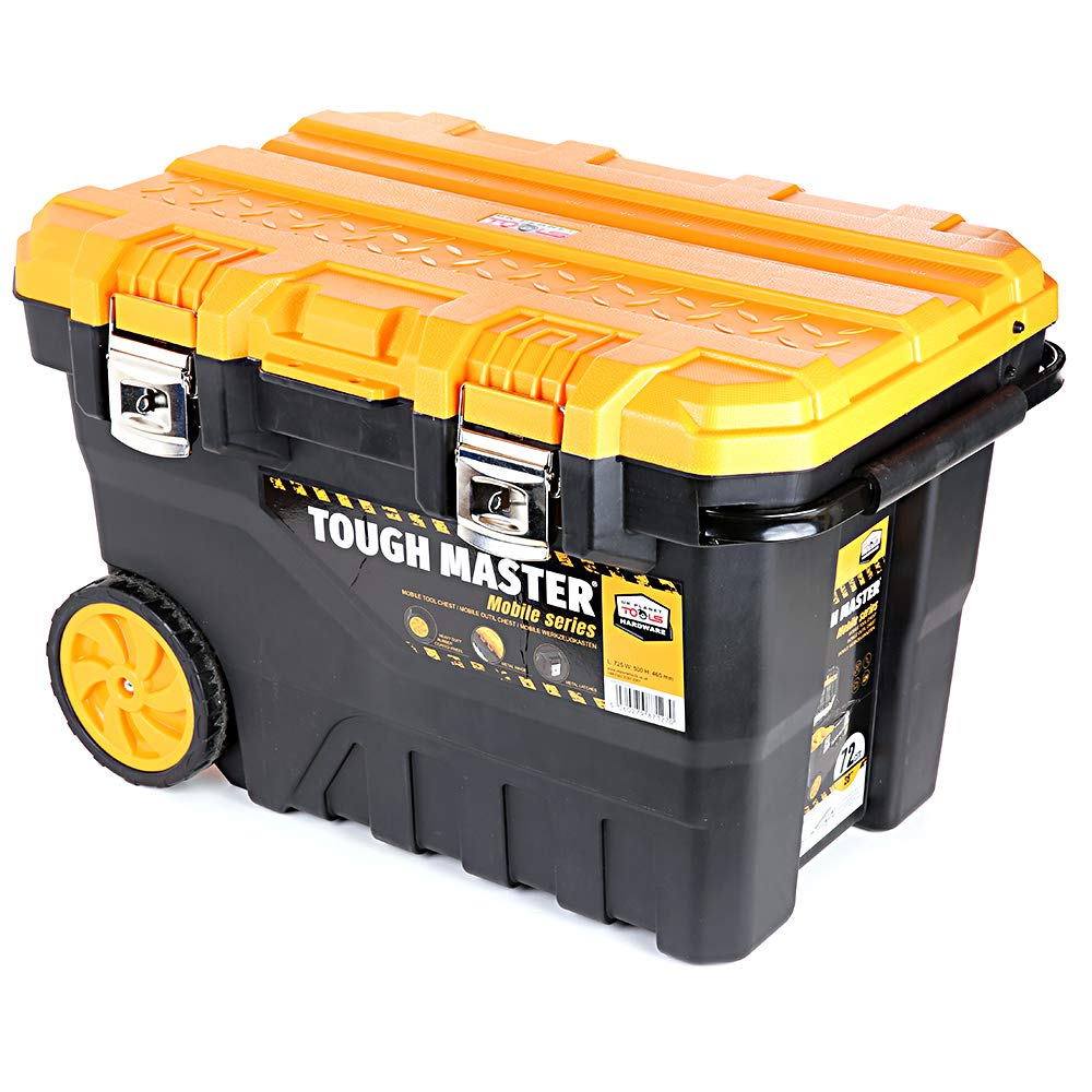 UK Planet UPT-4026 Professional Mobile Tool Box Chest 28'' / 72cm on Wheels with Tote Tray