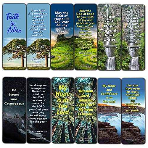 - Bible Verses Bookmarks About Hope: Staying Positive in The Midst of Hardship (30 Pack) - Give You Home During Darkest Times