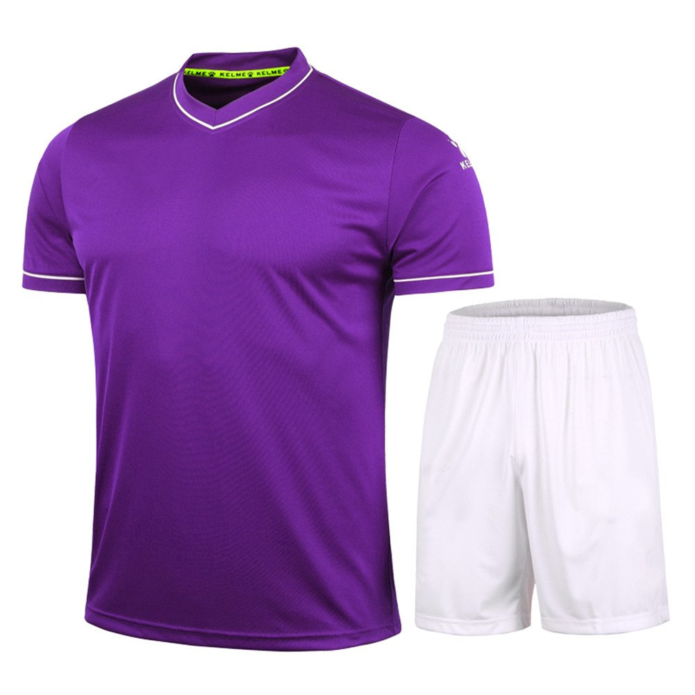 KELME Fútbol Uniforme Camiseta de Trajes para Hombres, Color ...