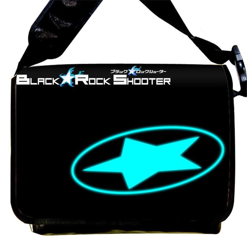 Siawasey Black Rock Shooter Anime Cartoon Messenger Bag Shoulder Bag