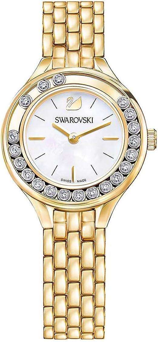 Swarovski Lovely Crystals 5242895 Mini montre dorée pour femme