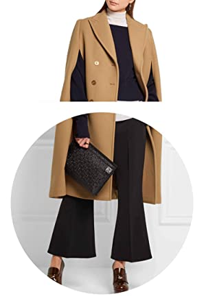 Amazon.com: better-caress-wool-outerwear-coats Fall/Winter Newest Designer Poncho Camel Cape Coat Women Cloak Manteau Femme Abrigos Mujer: Clothing