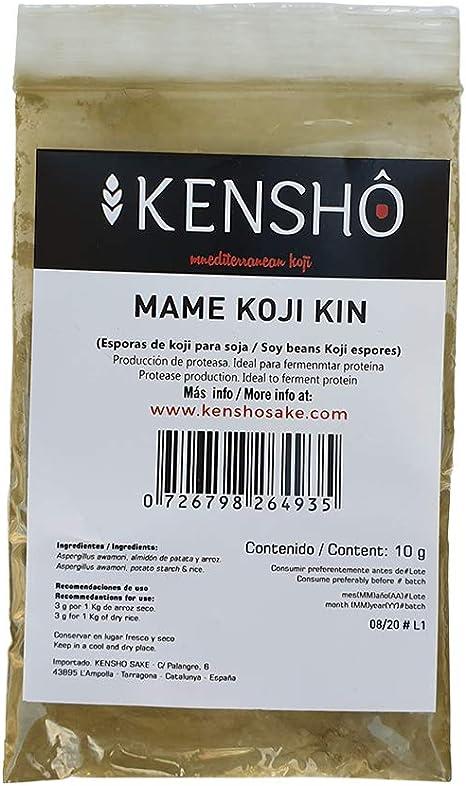 Kensho   Esporas de koji para elaboración de salsa de soja ...