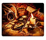 MSD Mousepad Vintage compass magnifying glass quill pen - Best Reviews Guide