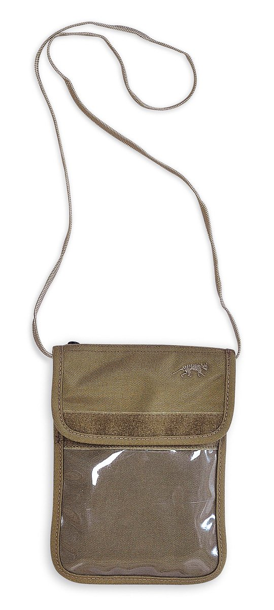 TT Neck Pouch (Khaki) by Tasmanian Tiger