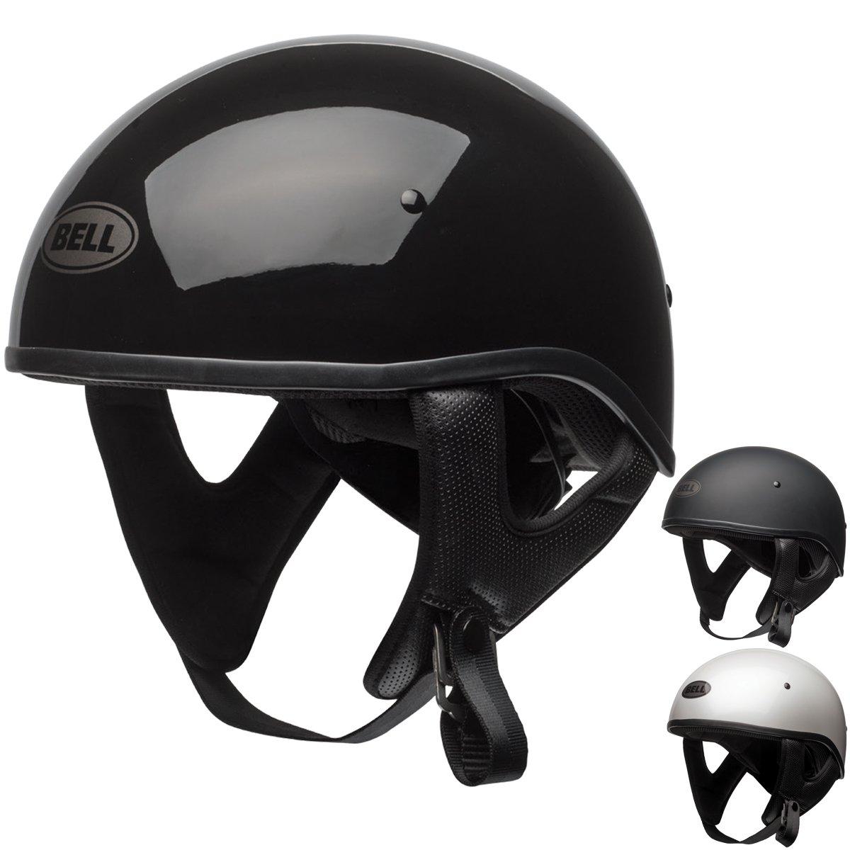 Bell Pit Boss Sport Unisex-Adult Half Street Helmet (Solid Matte Black, X-Small/Small) (D.O.T.-Certified)
