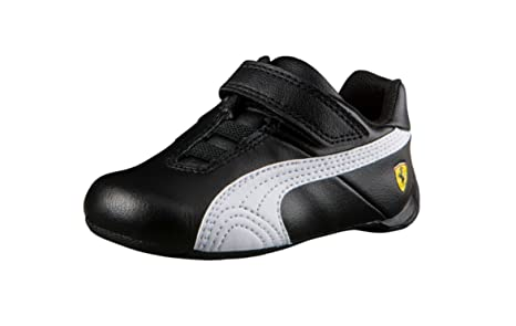 3ddf9dbe72e61 Puma Future Cat SF Ferrari - Zapatillas de Deporte para Niños, Color Negro,  Talla M Toddler: Amazon.es: Zapatos y complementos