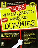 More Visual Basic 5 for Windows for Dummies, Wallace Wang, 076450133X