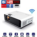 SOTEFE® Android WiFi Projector Portable - Wireless Mini LED Video Projector 1080P Full HD Projector Support 4K Download…