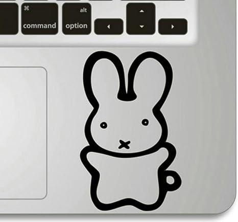 Top Top lovely M alto para conejo vinilo de vinilo Trackpad para Macbook Pro 13 de