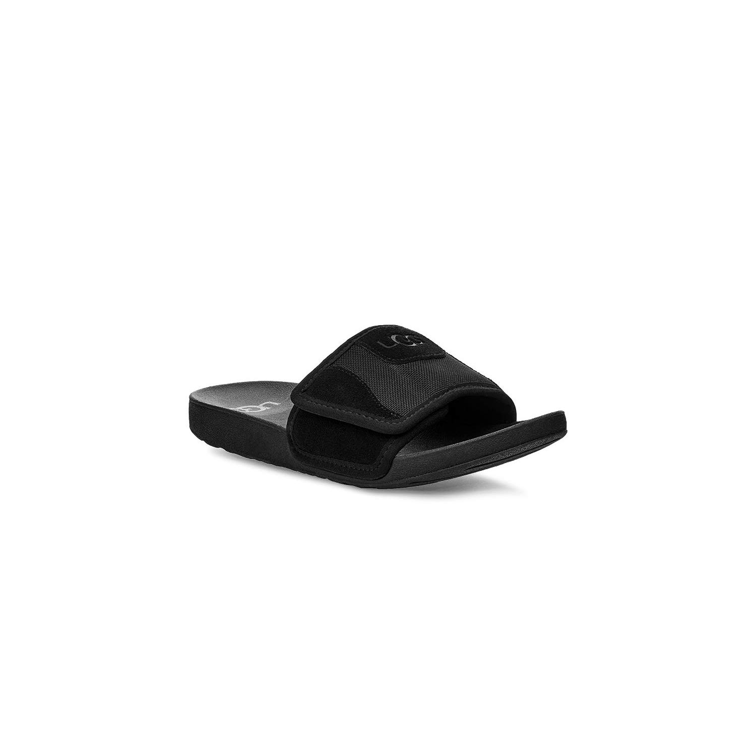 UGG Unisex K Beach Slide Sandal, Black, 13 M US Little Kid