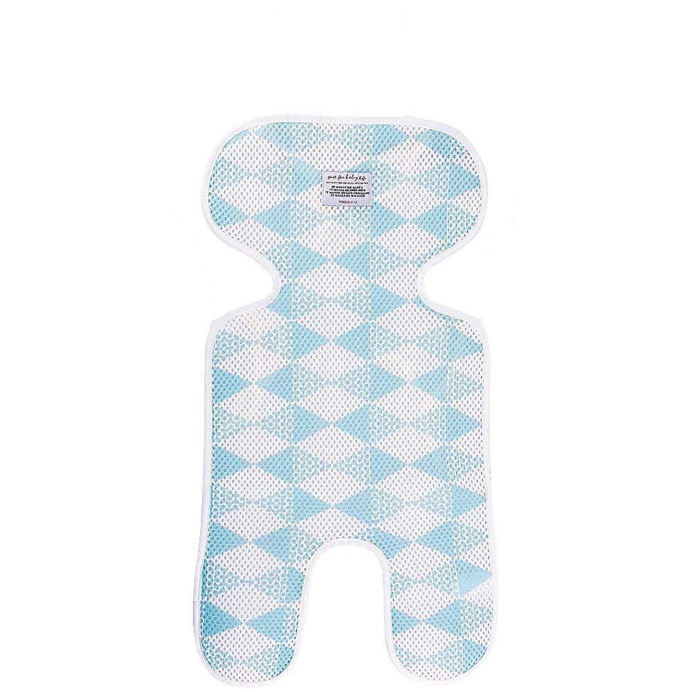 Buggy Universal Sitzauflage f/ür Kinderwagen Blau Atmungsaktive Sitzeinlage Kindersitz und Babyschale -verringert Schwitzen Ihres Kindes und sch/ützt den Sitzbezug vor Flecken