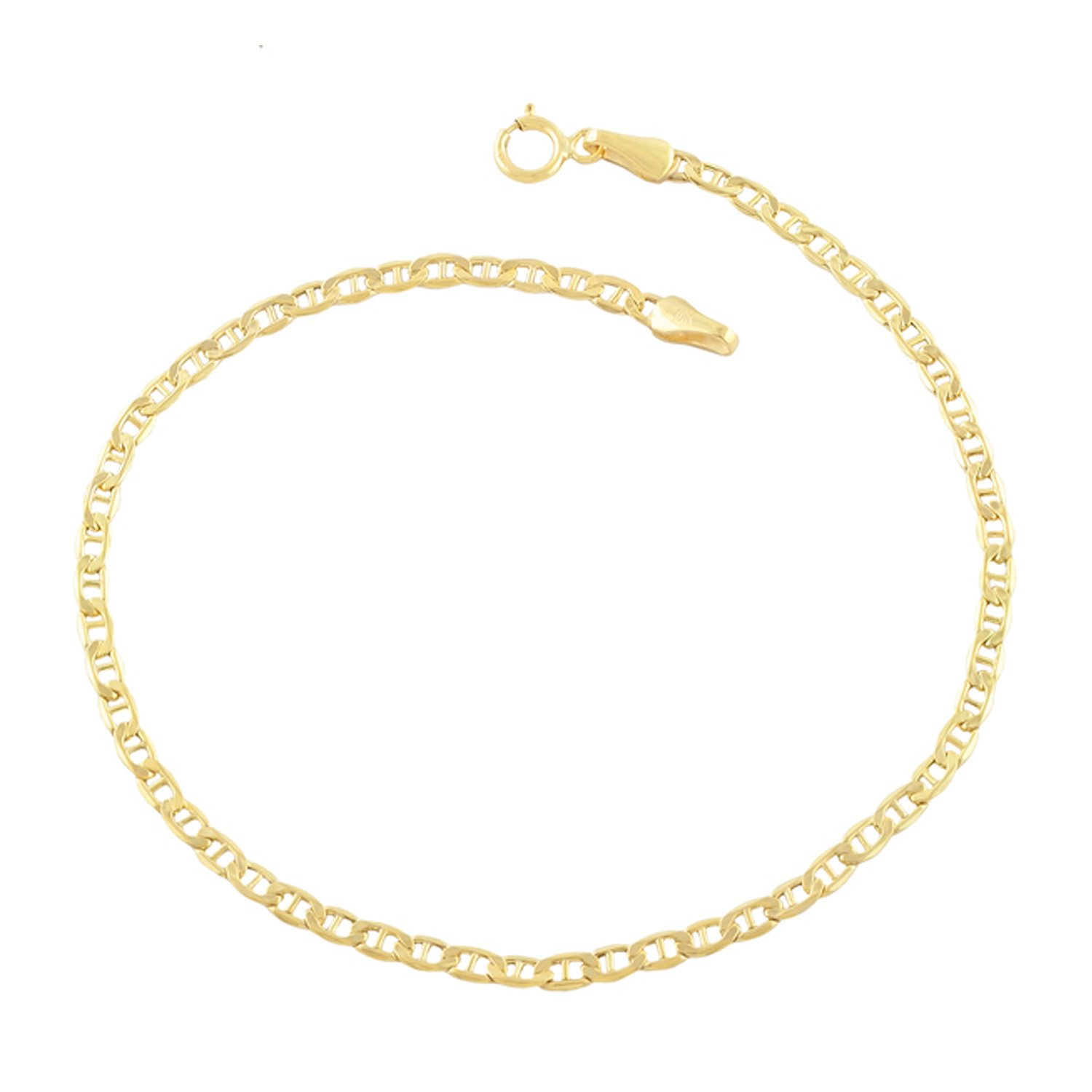 Decadence 14K Yellow Gold 10'' Mariner Anklet