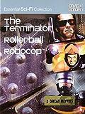 Coffret Science-Fiction 3 DVD : Terminator / Rollerball / Robocop