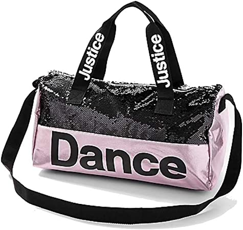 Black Dance Duffle Bag for 18 inch American Girl Doll Clothes Accessories