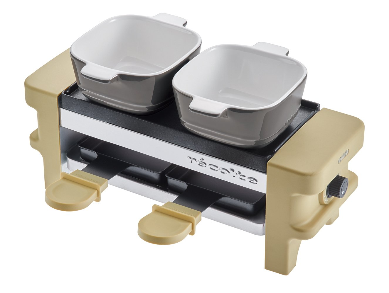 recolte''Raclette & Fondue Maker Melt'' (Beige) RRF-1(BE)【Japan Domestic Genuine Products】【Ships from Japan】