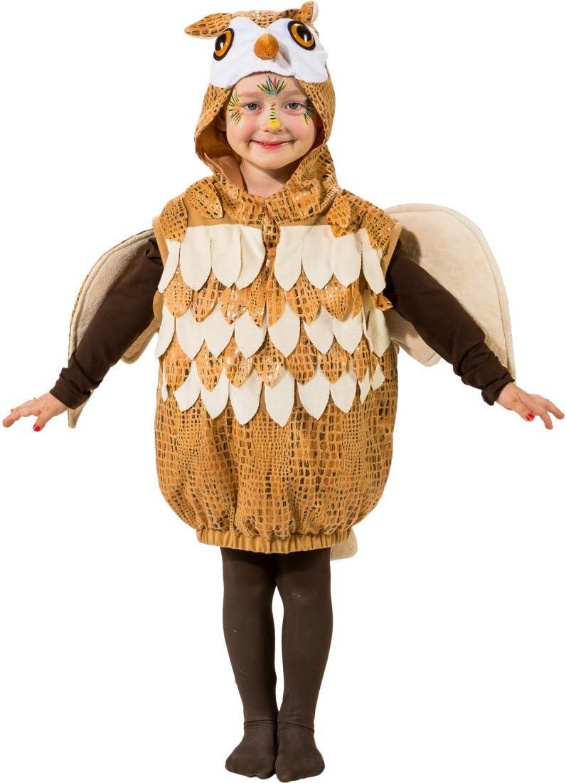 Cautivador set de disfraz de búho para niños y niñas | Marrón ...