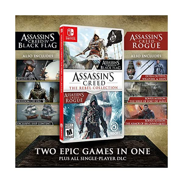 Assassin's Creed: The Rebel Collection - Nintendo Switch 3