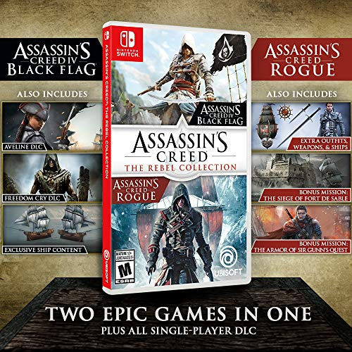 61Q1KCVedTL - Assassin's Creed: The Rebel Collection - Nintendo Switch
