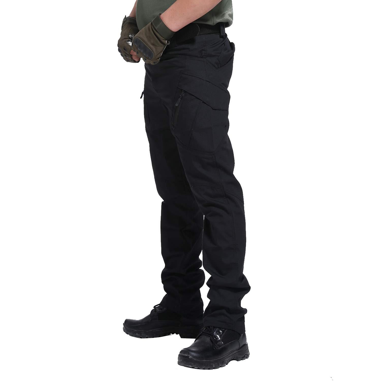 BWBIKE Pantaloni Tattici allaperto da Uomo Pantaloni da Lavoro da Combattimento da Combattimento