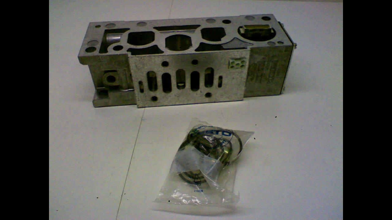Festo Vigi-04-D-3 Manifold Block 16Bar 232Psi Vigi-04-D-3
