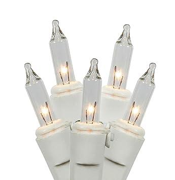 Amazon.com : Set of 100 Clear Mini Twinkle Christmas Lights ...