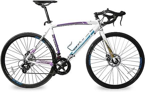 Bavel - Bicicleta de carretera ligera con marco de aluminio y ...