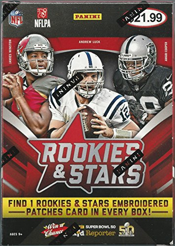 2015 Panini Rookies & Stars Football Trading Card Blaster Box