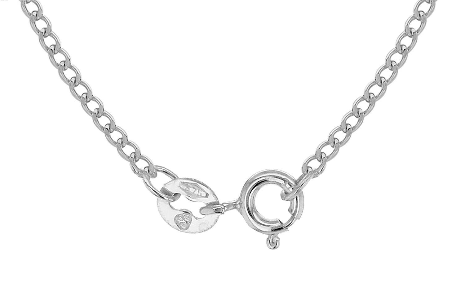 Or 9 Carat Carissima Gold Collier Maille Gourmette 375//1000
