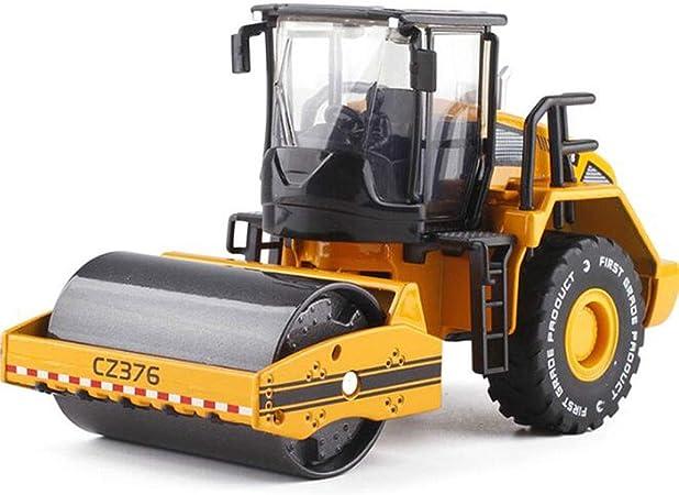 GYAN Fundición a presión de aleación de Camiones articulados Modelos Rodillo de Camino de la construcción de vehículos S Modelo Regalo Ingeniería de Coches de Juguete Boy (Camino de Rodillos): Amazon.es: Hogar