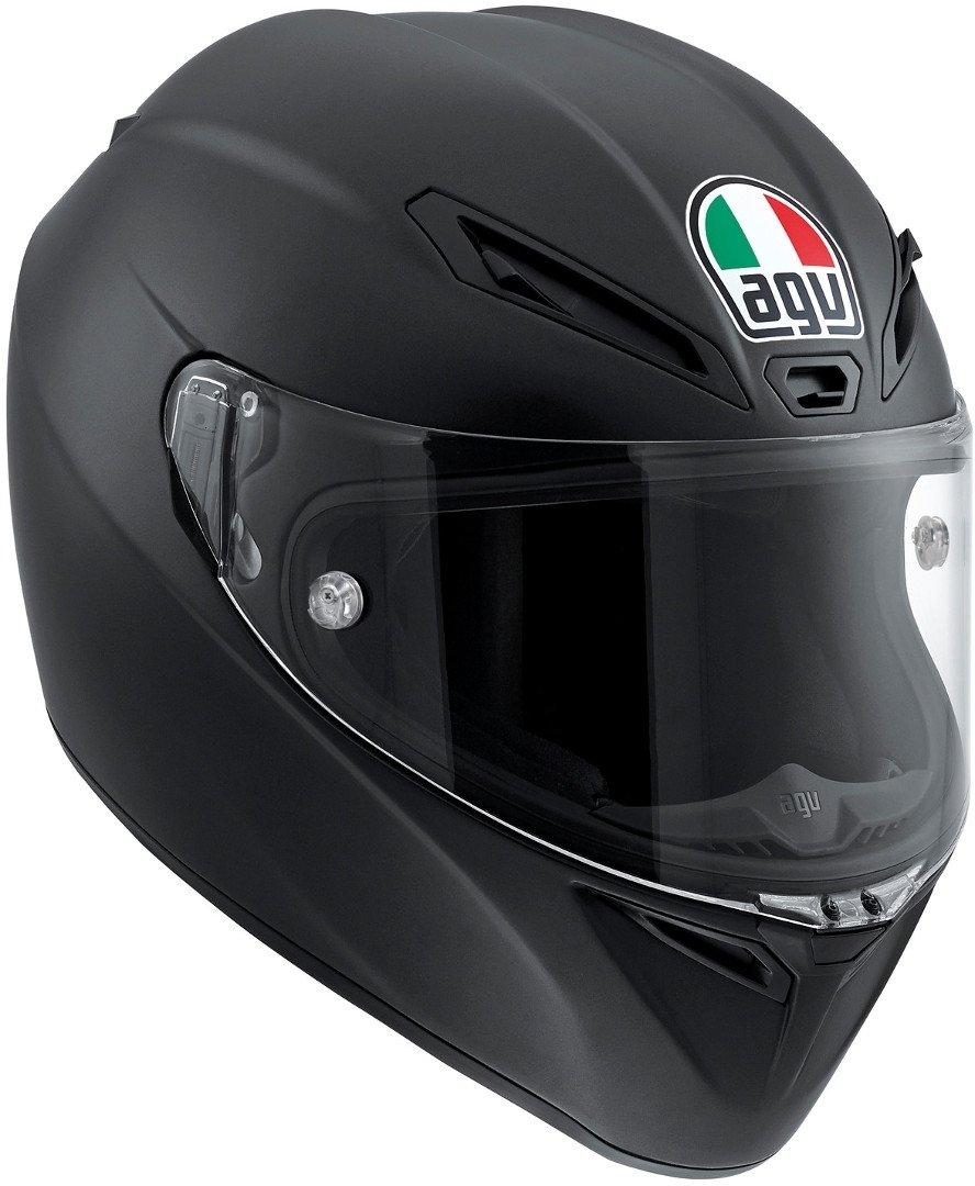 Matt Black ML AGV Casco Moto Veloce S E2205 Solid PLK